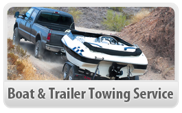 boat towing service